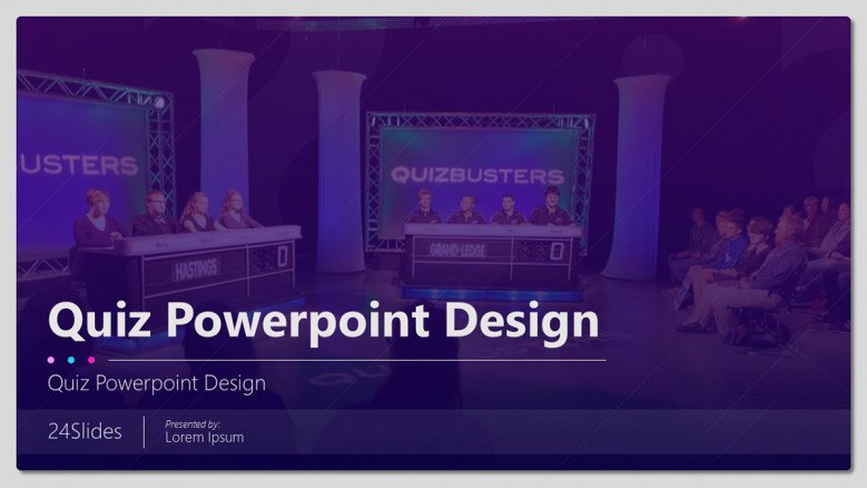 Fun Quiz PowerPoint Template