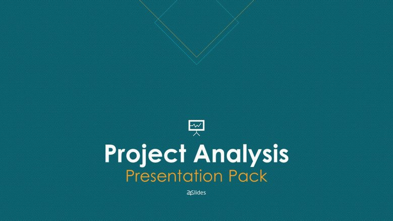 welcome slide for project analysis presentation