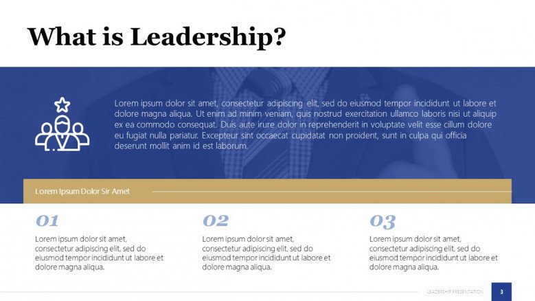 What is leadership Slide