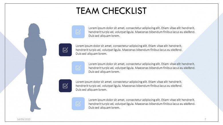 Team member report Slide