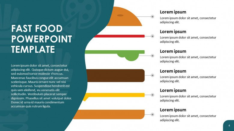 Hamburger Ingredients Slide
