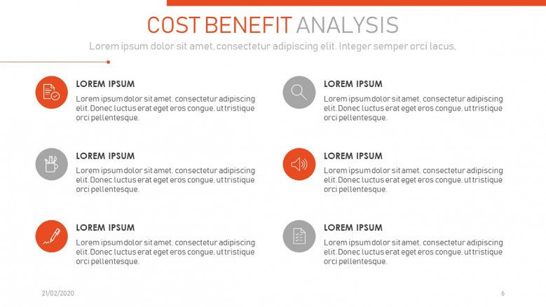 Cost-benefit conclusions Slide