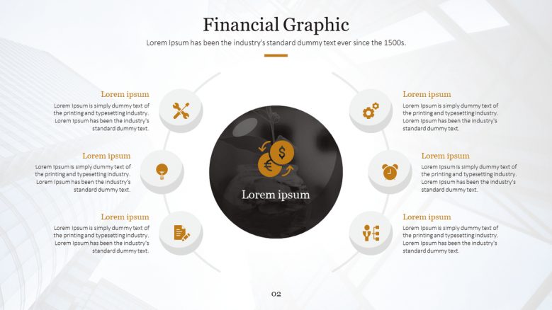 Financial cycle diagram in six steps