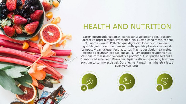 Nutrition Powerpoint Template Free Powerpoint Template
