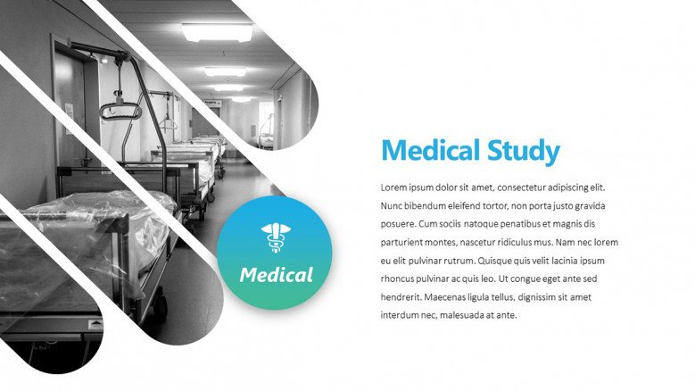 Creative PowerPoint Slide for a Medical Case Study