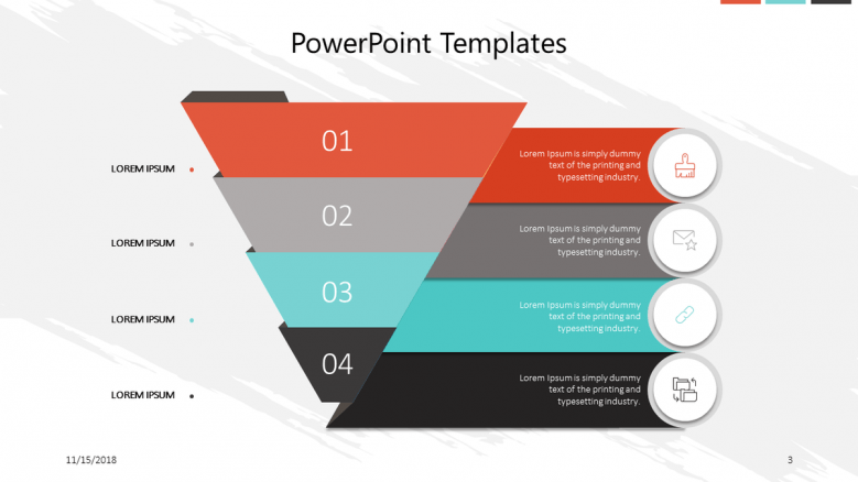 corporate presentation in funnel chart6
