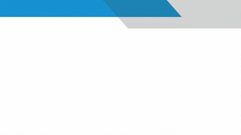 presentation background in plain white and blue and grey