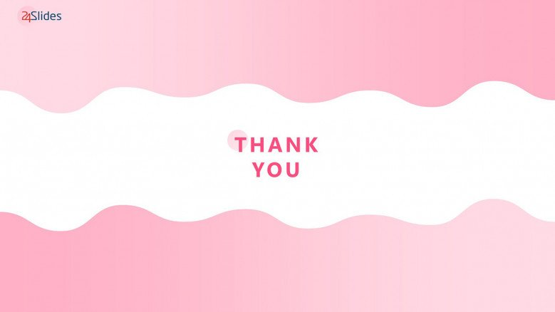 Pink Thank You Slide