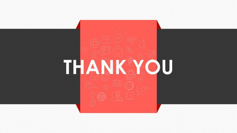 thank you slide for digital marketing presentation
