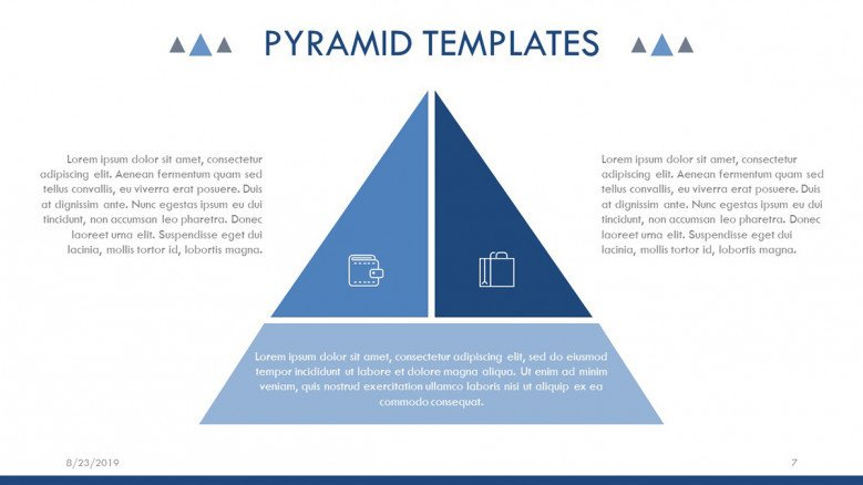 Segmented Pyramid Diagram