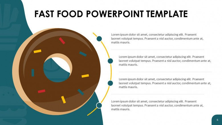 Donut PowerPoint Slide