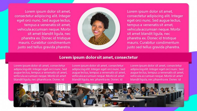 Pink Newsletter for employees