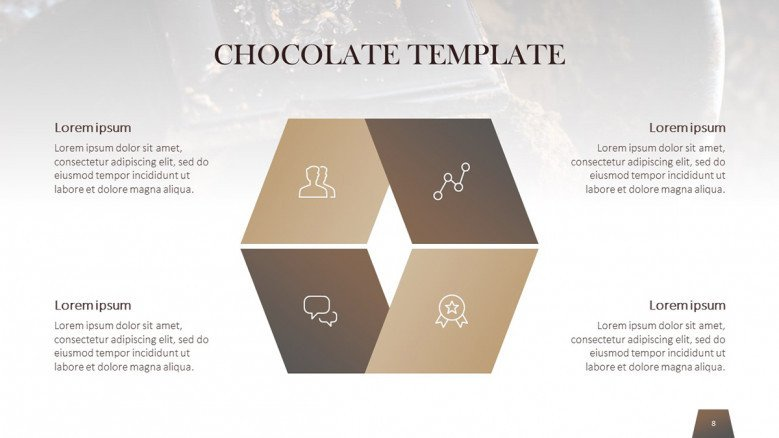 Chocolate Matrix with icons