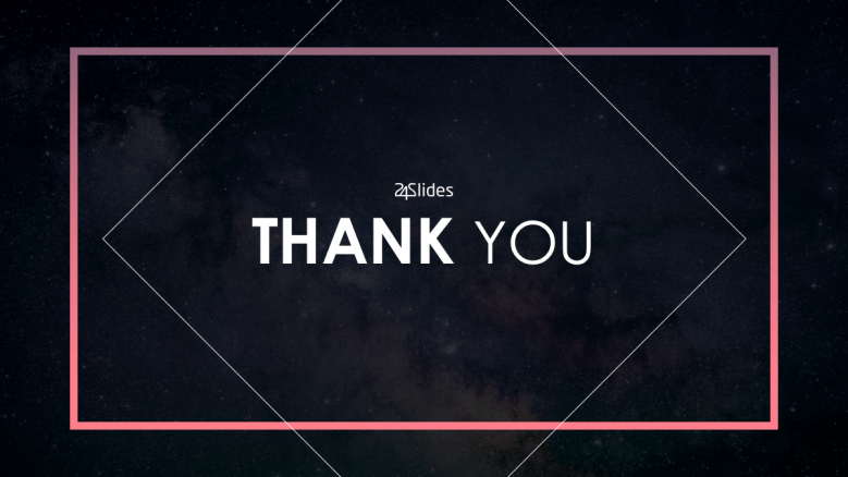A thank you slide