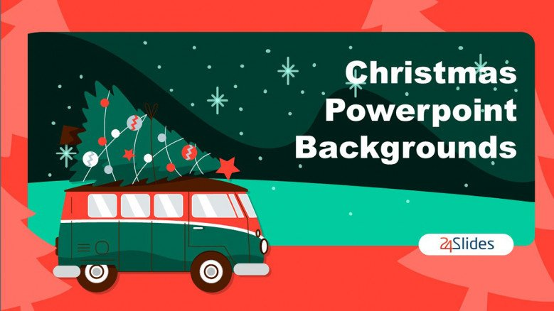 Fun Christmas PowerPoint Backgrounds