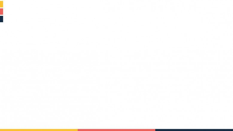 presentation background in white with colorful line