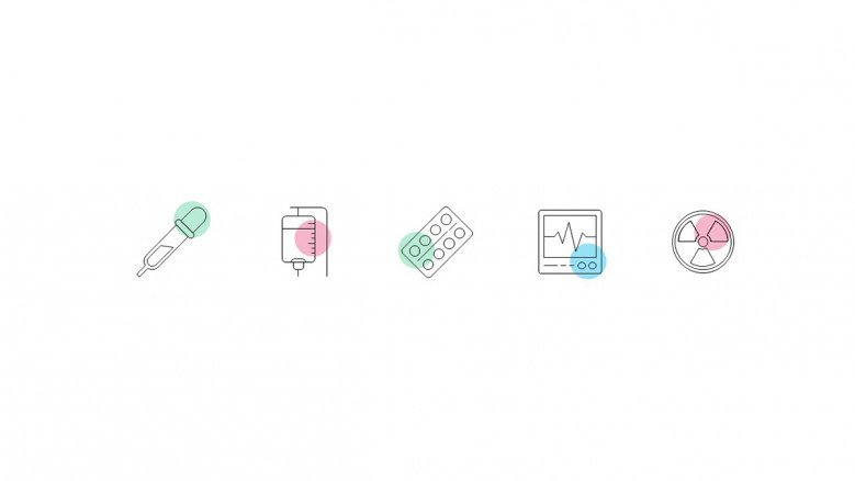 Pharmaceutical Icons for PowerPoint Presentations