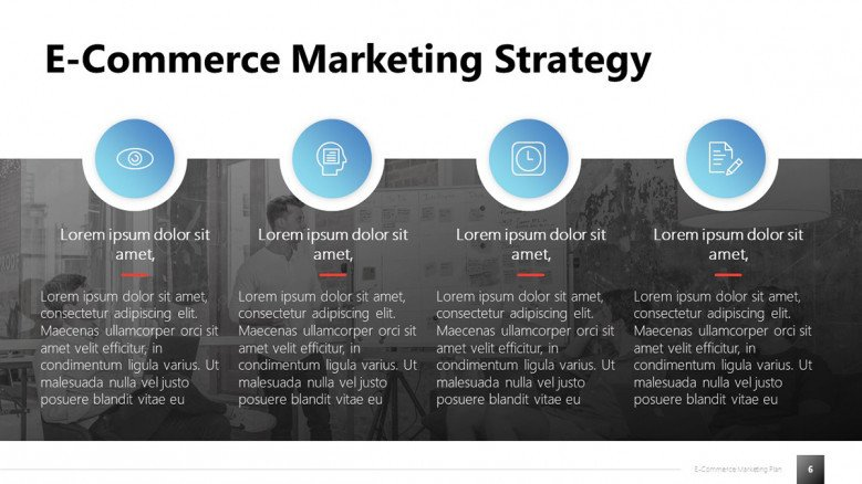 E-commerce Marketing Strategy Slide