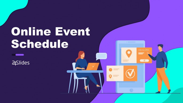 Event Schedule template in PowerPoint