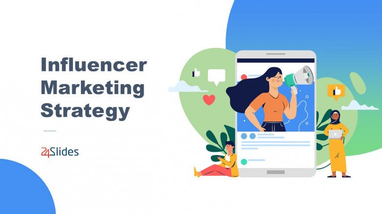 Influencer Marketing Strategy PowerPoint Template