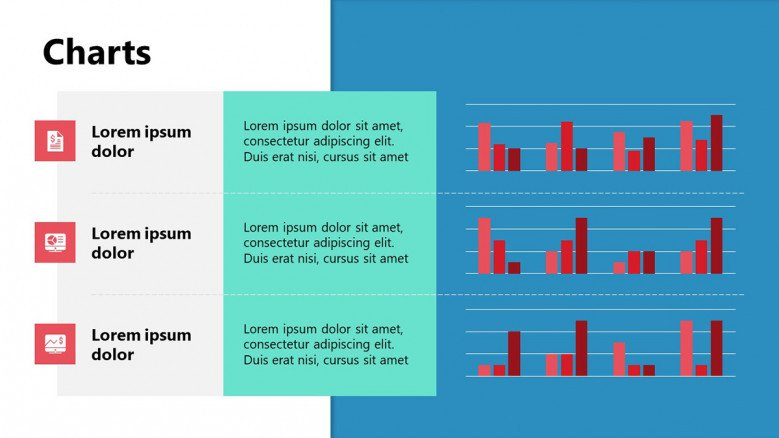 Creative PowerPoint Slide for charts