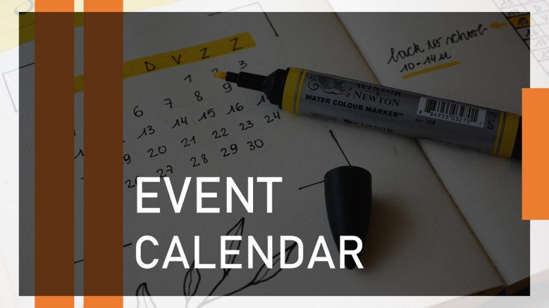 Company Events Calendar PowerPoint Template