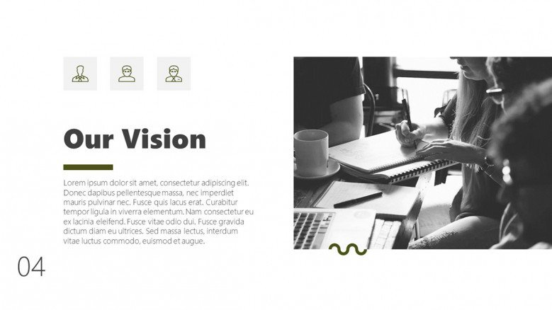 Business Vision Slide