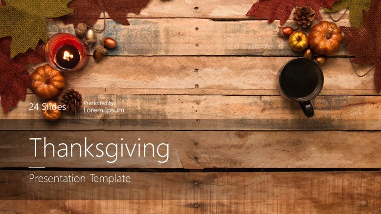 Thanksgiving Title Slide