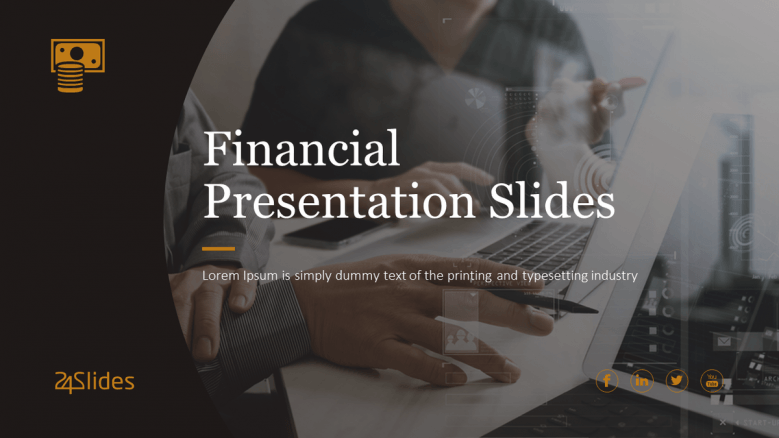 welcome finance presentation slide