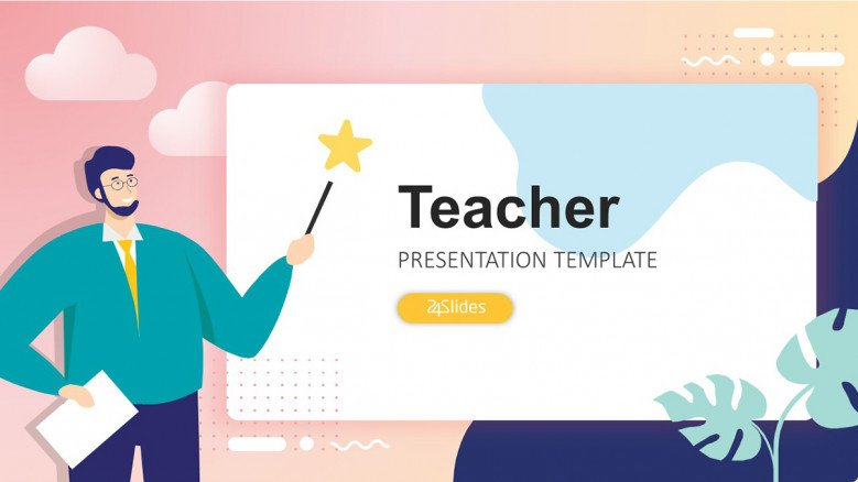 Teacher Lesson Plan Powerpoint Template Free Powerpoint
