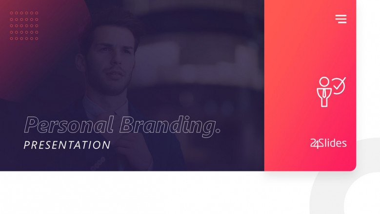 Creative Personal Branding Presentation for Professionals