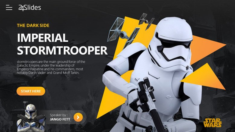 Star wars PowerPoint Template