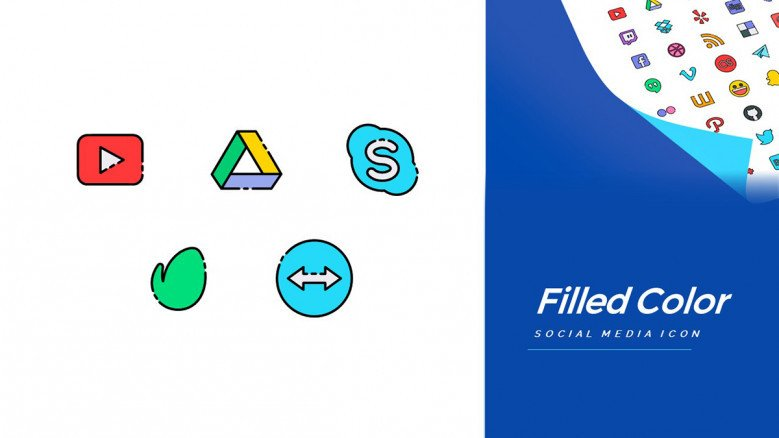 Free Icons of top Social Media Platforms