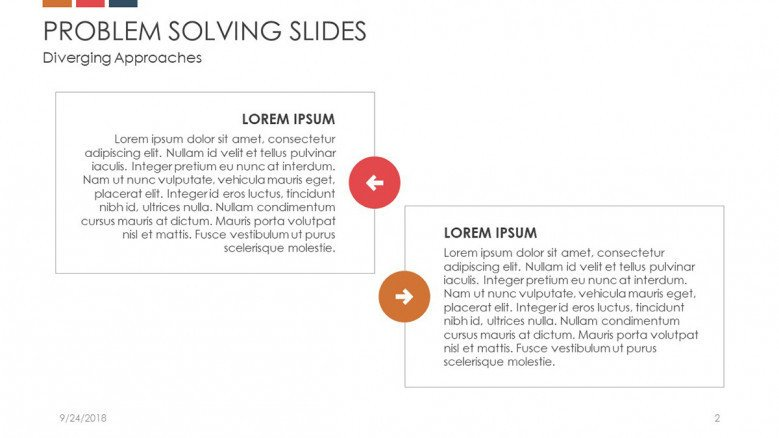 problem solving slide key factors in description boxes