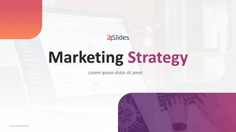Title Slide for a Marketing Strategy Presentation