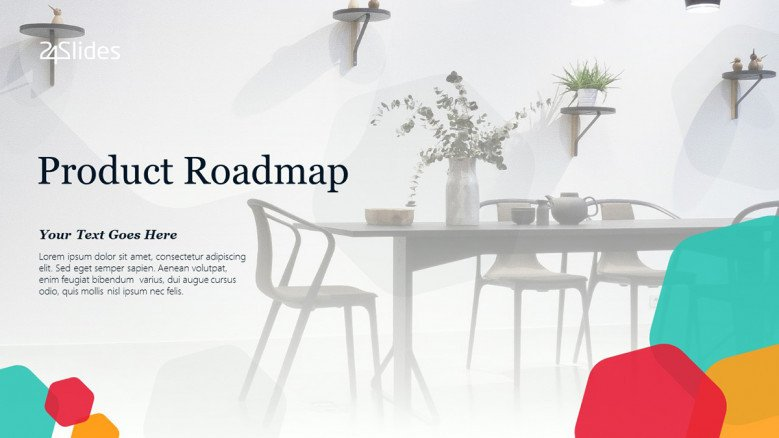 Creative Product Roadmap presentation