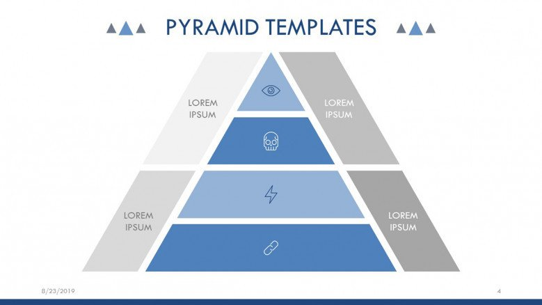 Business Pyramid Chart
