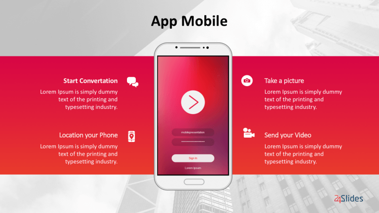 Android Mobile Presentation Template Pack | Free PowerPoint Templates