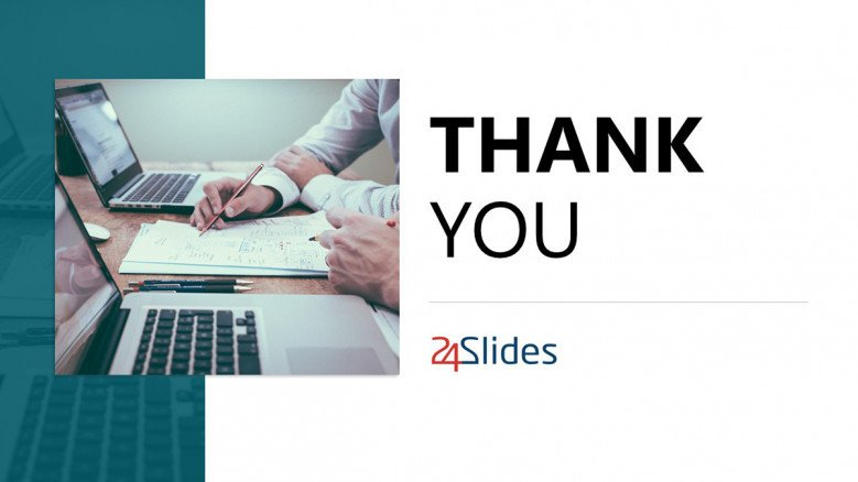 Thank You Slide for 5-year business plan presentation