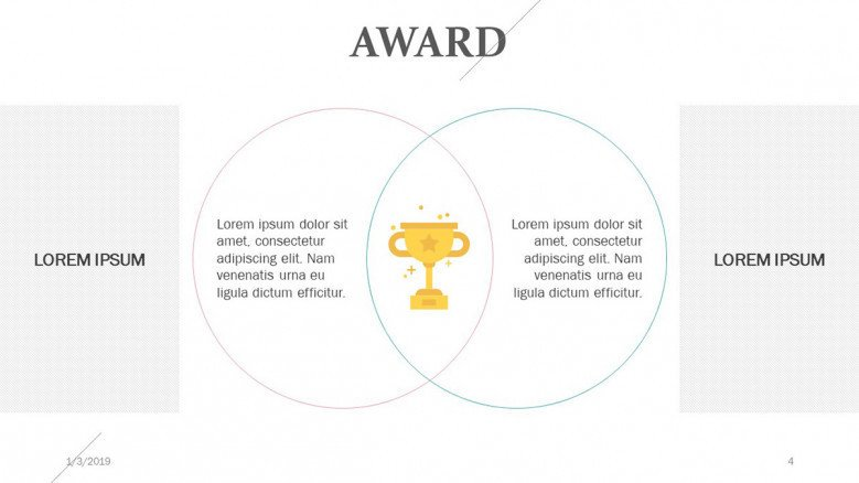 award slide in venn diagram