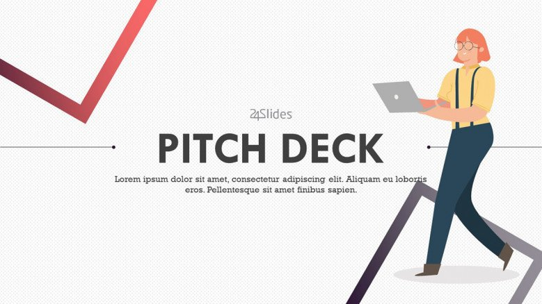 welcome slide for pitch deck presentation