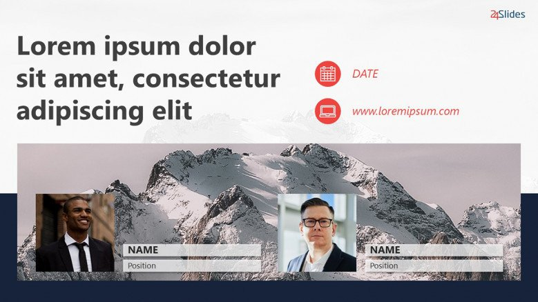 Webinar Banner Template in PowerPoint