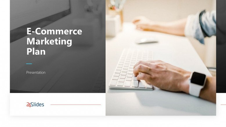 E-commerce Marketing Plan Template in PowerPoint