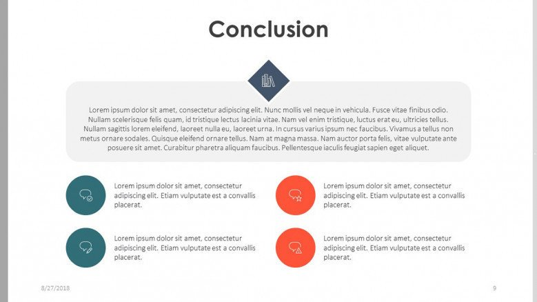 bachelor thesis research conclusion slide in summarized key factors