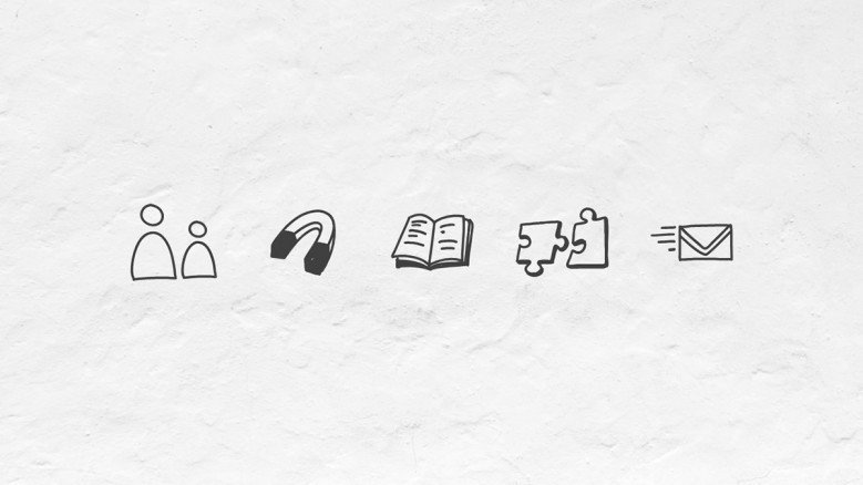 Doodle Icons for business Presentations