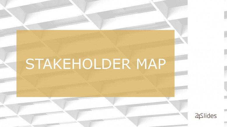 Stakeholder Map Title Slide