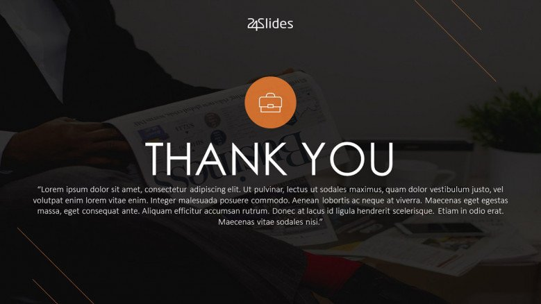 Thank You Slides | Free PowerPoint Template