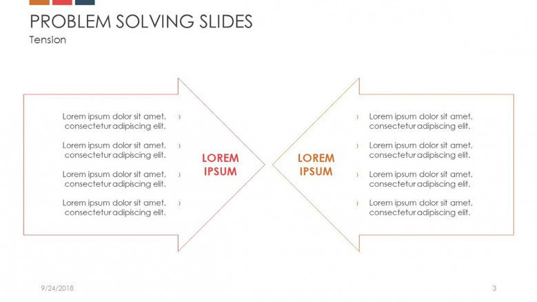 problem solving analysis key aspects in arrows