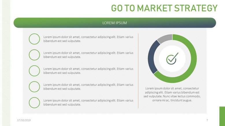 Creative Go To Market Presentation | Free PowerPoint Template