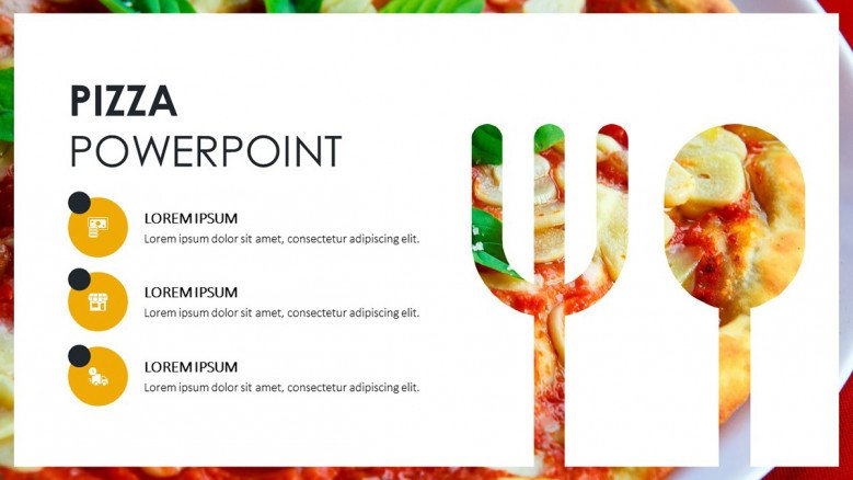 Creative Pizza Presentation | Free PowerPoint Template